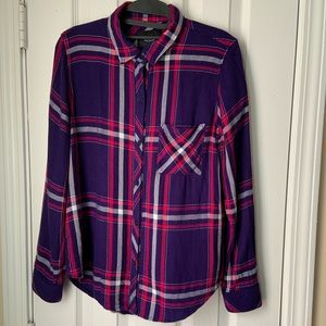 Rails Plaid Hunter button down shirt